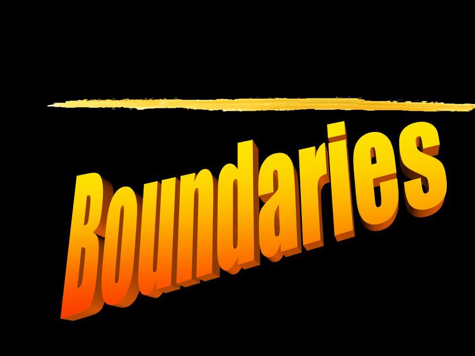 Boundries