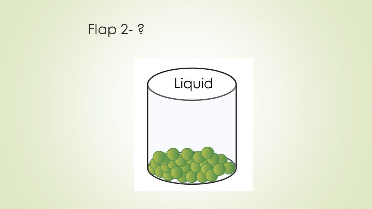 Flap 2- ? Liquid