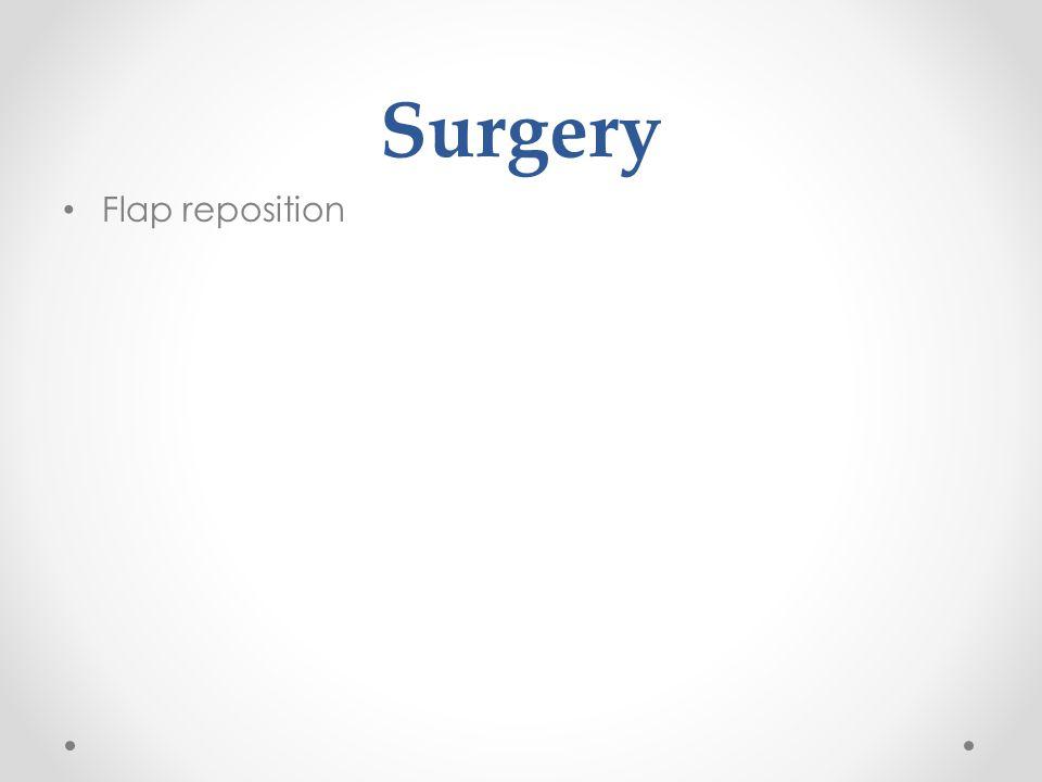 Surgery Removal of debris Slit lamp