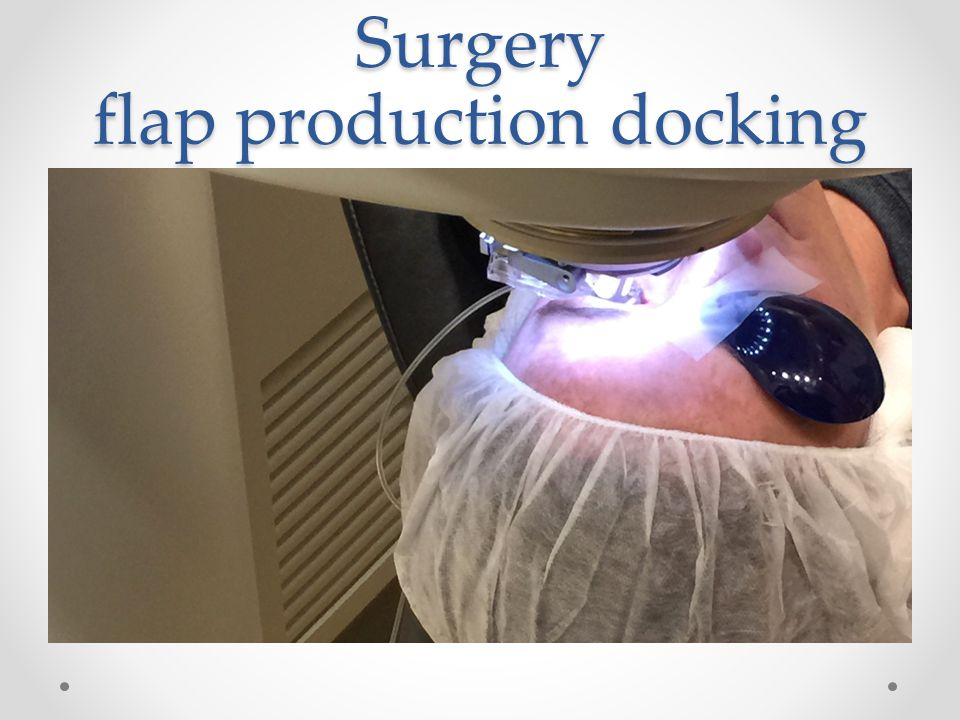 Surgery flap production