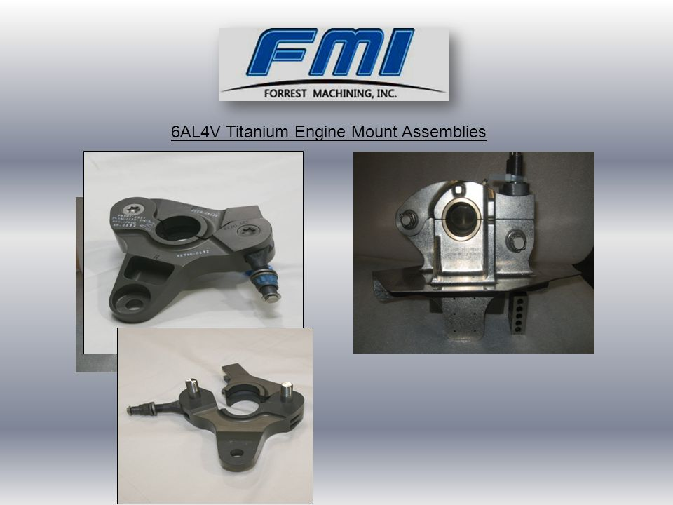 6AL4V Titanium Engine Mount Assemblies
