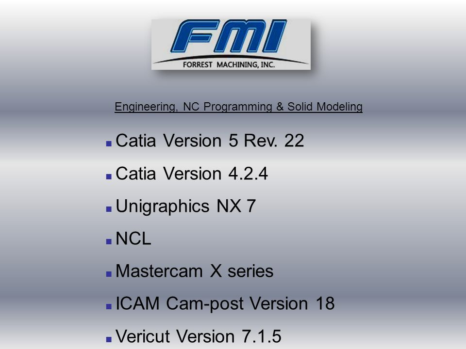■ Catia Version 5 Rev.