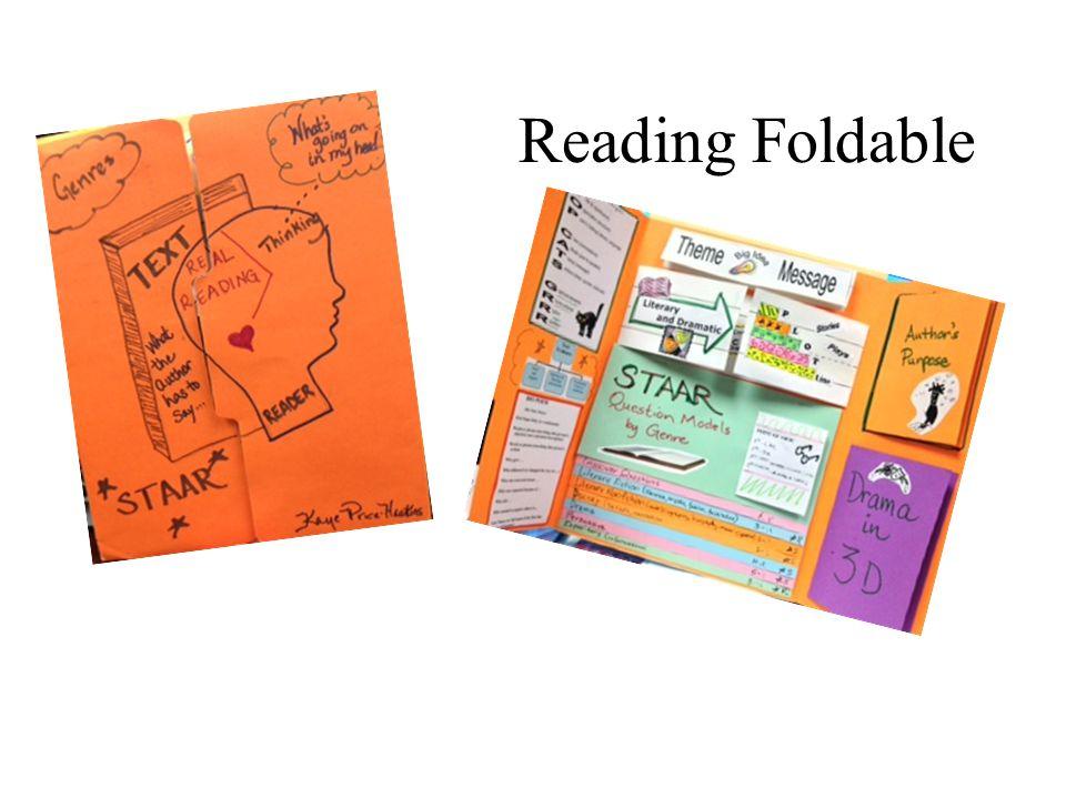 Reading Foldable