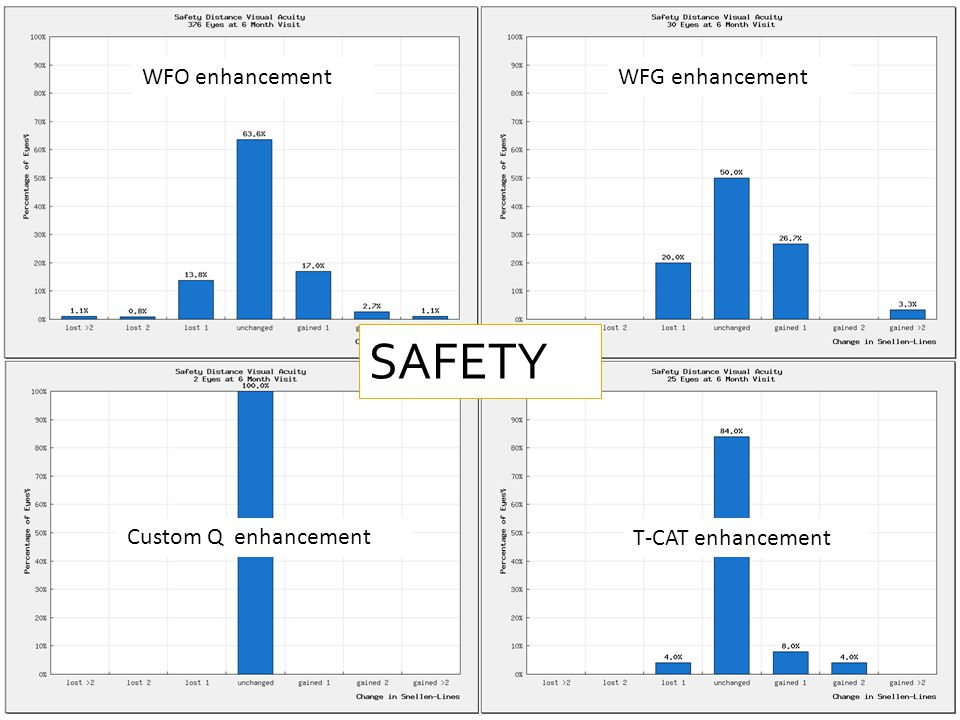 WFO enhancementWFG enhancement Custom Q enhancementT-CAT enhancement WFO enhancementWFG enhancement Custom Q enhancement T-CAT enhancement SAFETY