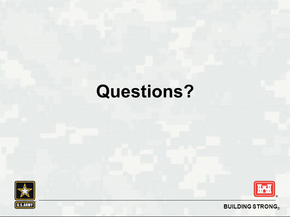 BUILDING STRONG ® Questions