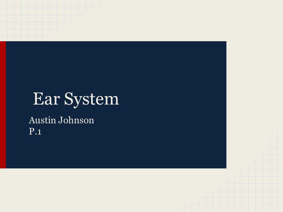 Ear System Austin Johnson P.1
