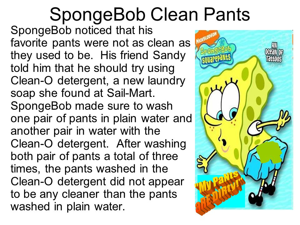 6.What was the problem SpongeBob wanted to investigate.
