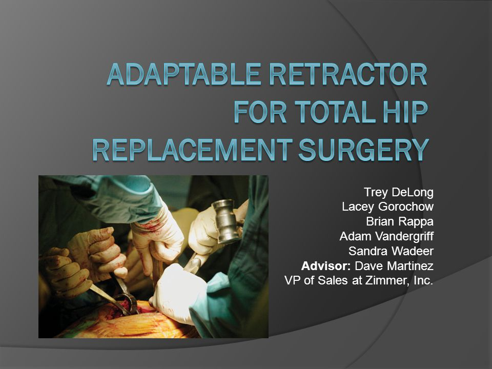 Problem Statement  Current tissue retractors are narrow, multiple retractors are required especially in obese patients NY times reports 34% adults are obese +Surgical Techs($20.00/hr*2-4hr/surgery*200k surgeries/year) Time of surgery increases as well  Previous team designed an adjustable retractor Complex and impractical for industrial production Prototype could not be used in surgery