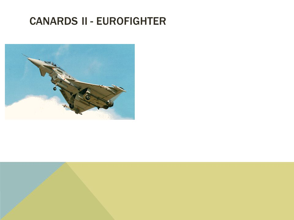 CANARDS II - EUROFIGHTER