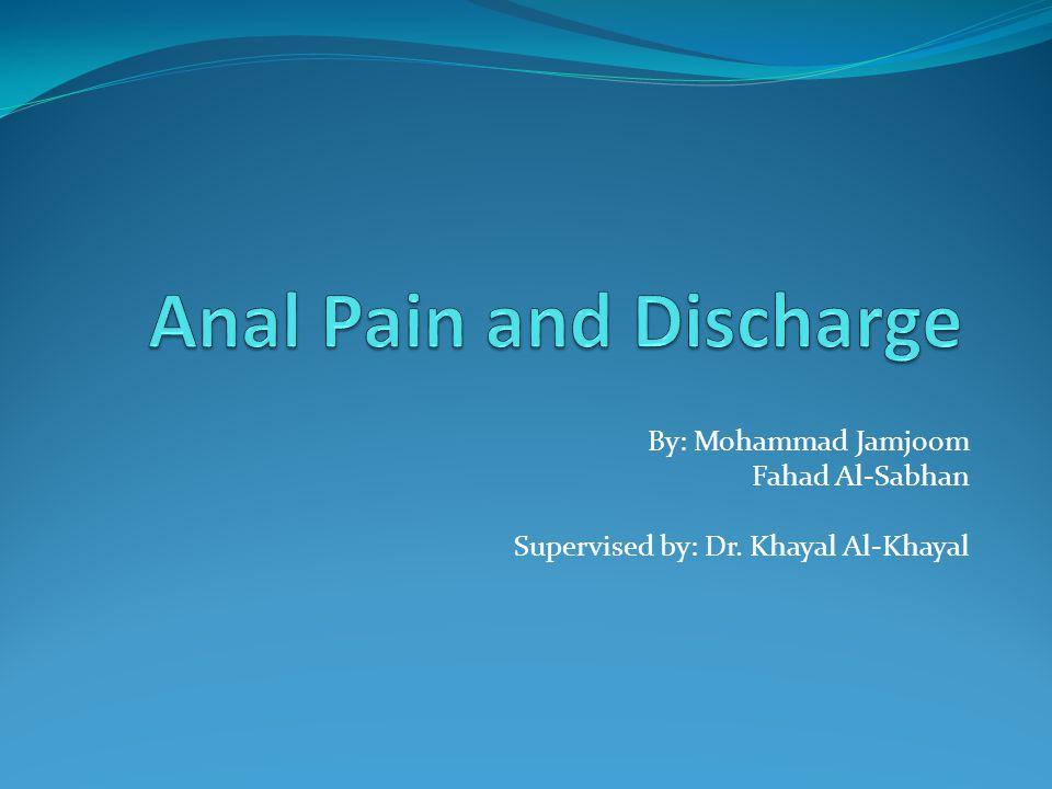 By: Mohammad Jamjoom Fahad Al-Sabhan Supervised by: Dr. Khayal Al-Khayal