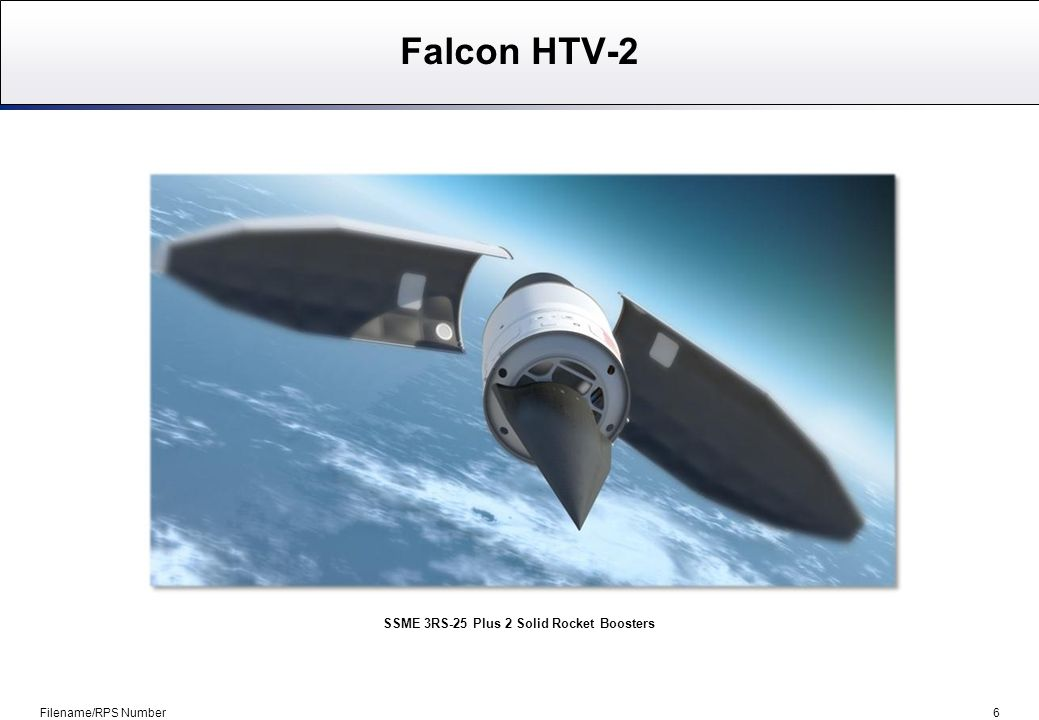 7 Advanced Hypersonic Weapon (AHW) Filename/RPS Number Strategic Target System (STARS)