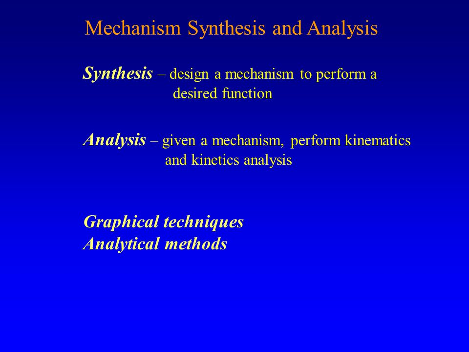 Ken Youssefi Mechanical Engineering Dept. 52 Type of Motion and Mechanisms Rotational to Rotational