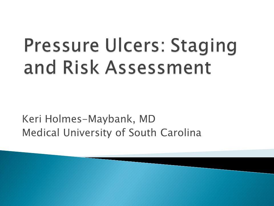 Keri Holmes-Maybank, MD Medical University of South Carolina
