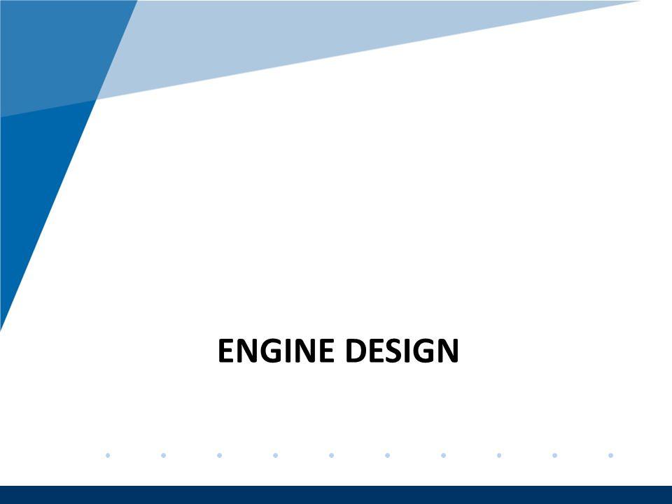 Company LOGO www.company.com ENGINE DESIGN