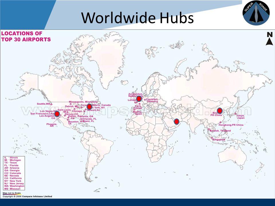 Company LOGO www.company.com Worldwide Hubs