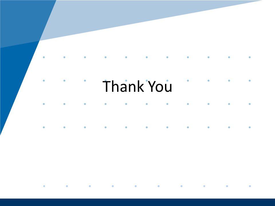 Company LOGO www.company.com Company LOGO www.company.com Thank You