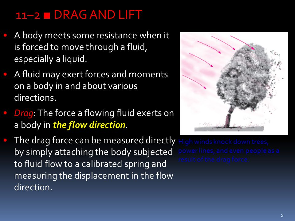 56 Lift Generated by Spinning Magnus effect: The phenomenon of producing lift by the rotation of a solid body.