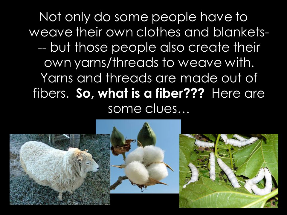 Once you have the fibers you have to spin them in order to create a yarn.