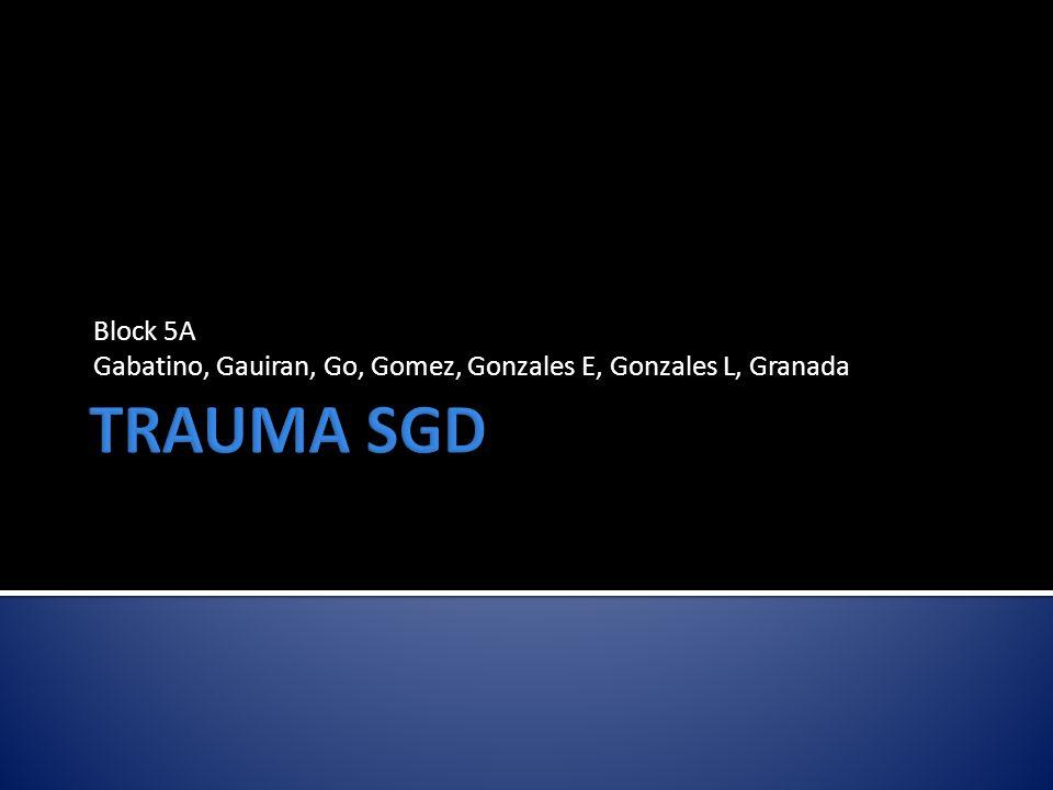 Block 5A Gabatino, Gauiran, Go, Gomez, Gonzales E, Gonzales L, Granada
