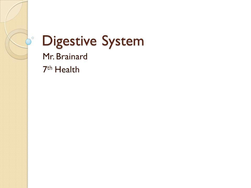 Digestive System Care 1.Eat foods high in fiber.