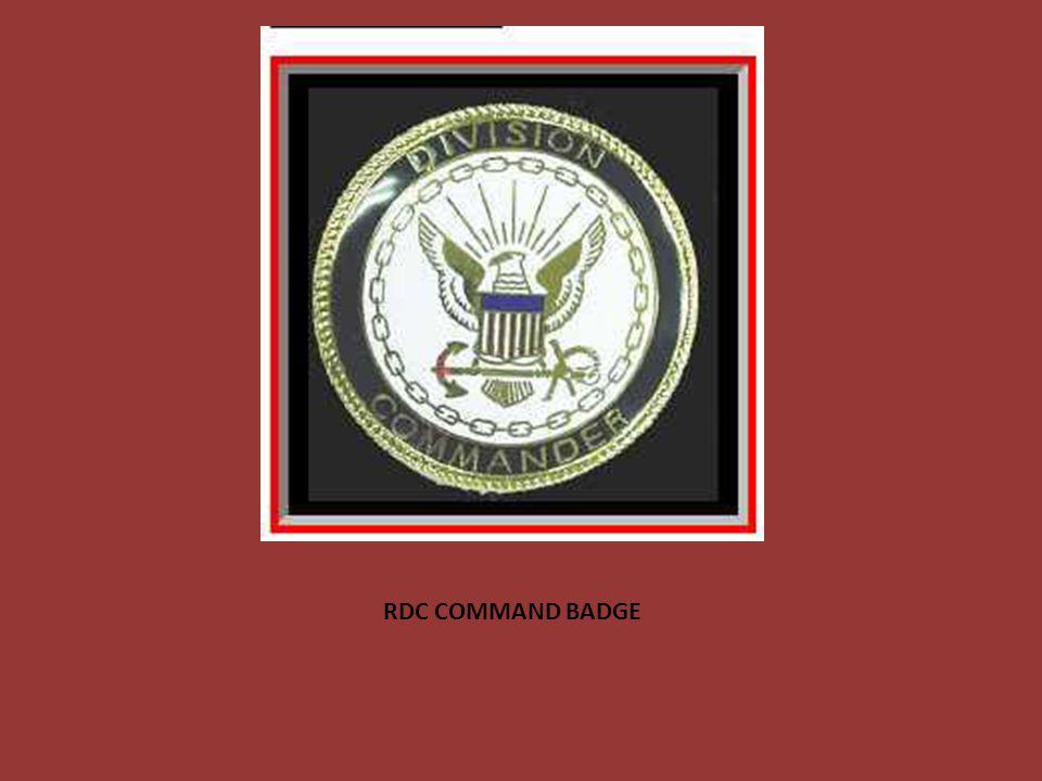 RDC COMMAND BADGE