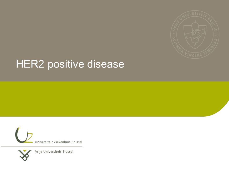 HER2 positive disease