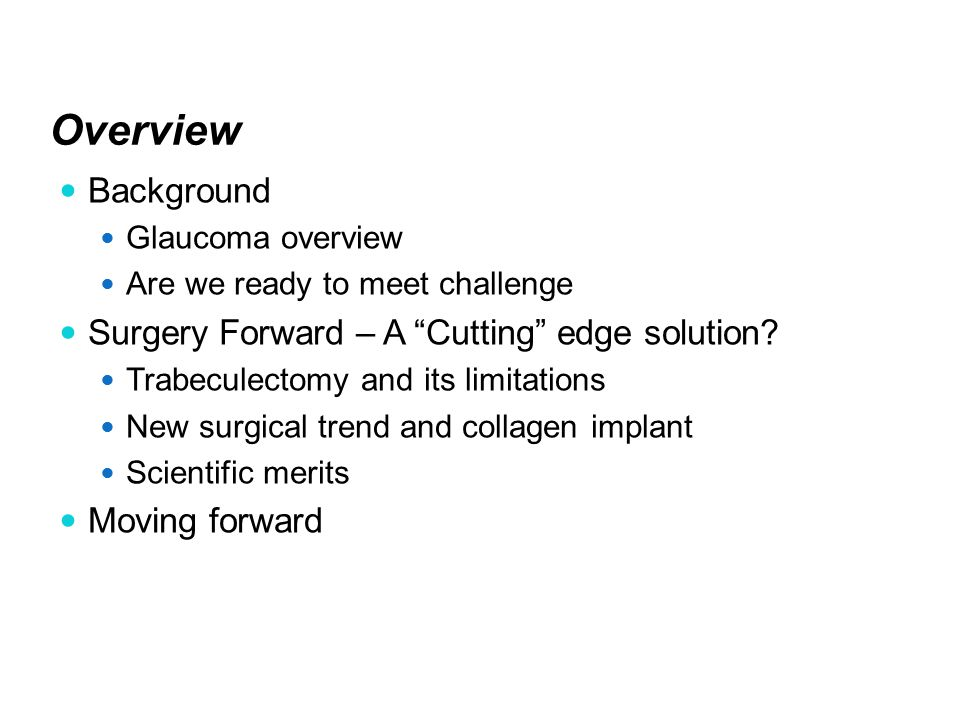 Company: Aeon Astron Europe B.V. Date: Apr-15-2013 Management of Glaucoma Surgery: Indian Perspective