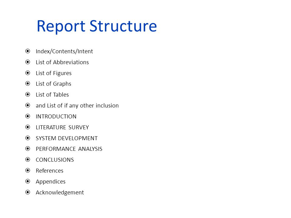 Note: For every interview it is necessary/must to carry the report.