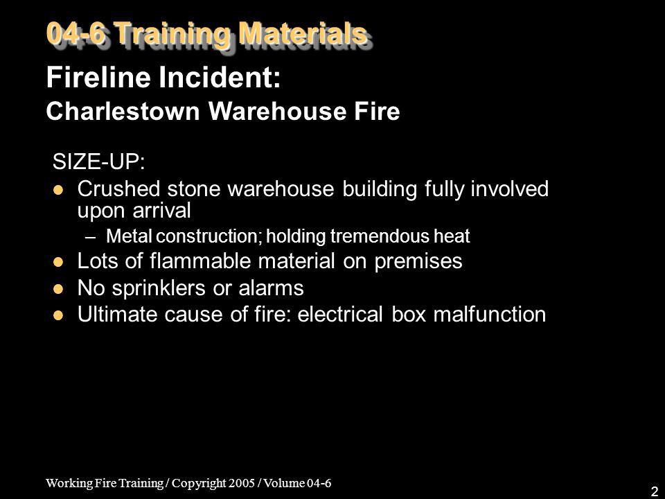 Working Fire Training / Copyright 2005 / Volume 04-6 33 04-6 Training Materials Fire Medics: Tracheostomies, Laryngectomies, & Stomas PATIENT SETTINGS Uncuffed Tracheostomy – No cuff, so there is nothing to be inflated.