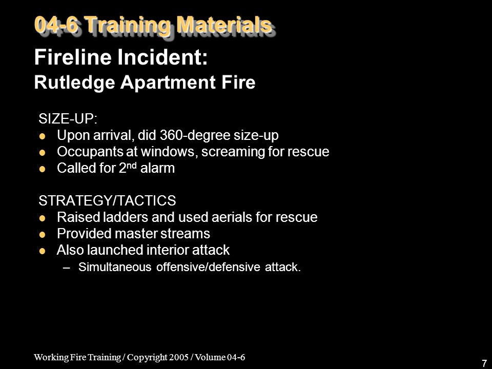 Working Fire Training / Copyright 2005 / Volume 04-6 38 04-6 Training Materials Fire Medics: Tracheostomies, Laryngectomies, & Stomas STRUCTURES Stomas – A well-healed trache site.