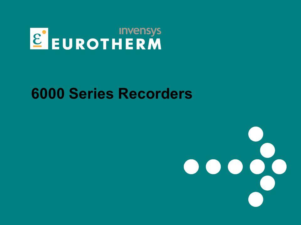 6000 Series Recorders