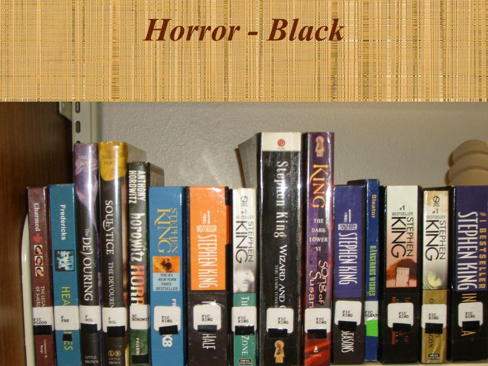 Horror - Black
