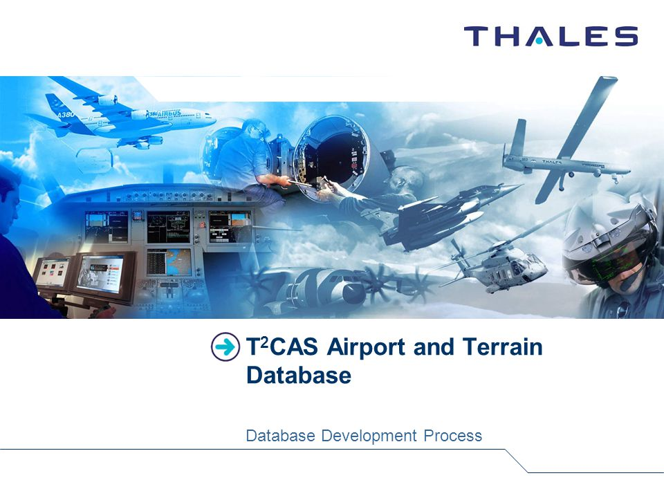 T 2 CAS Airport and Terrain Database Database Development Process
