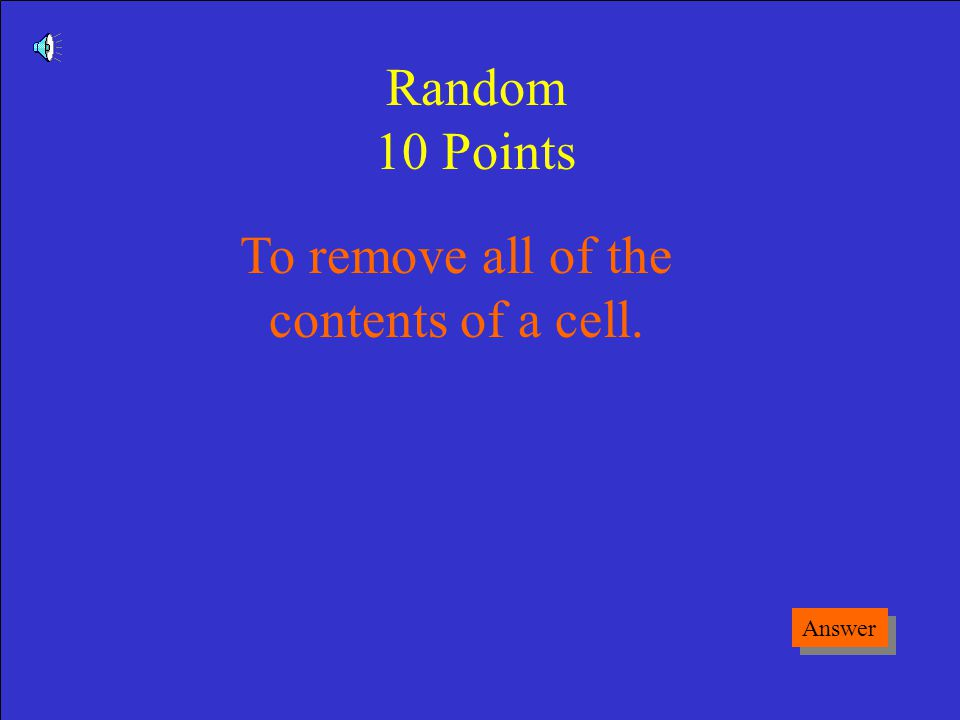 What is a Cell Reference Game Board Say My Name 50 Points