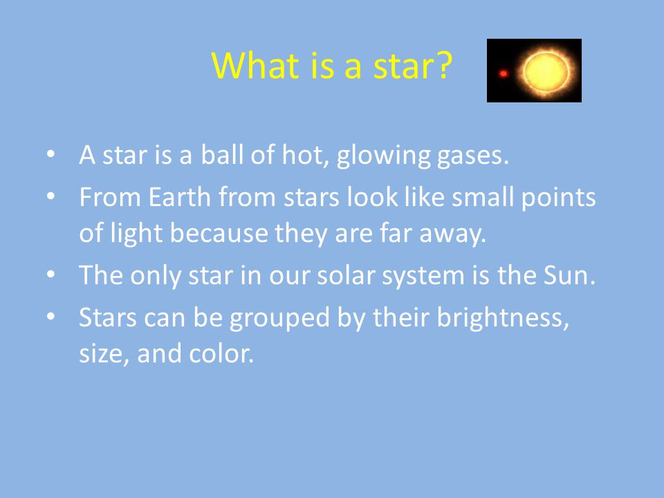 9. The color of a star is determined by its __________. a. Temperature b. Size