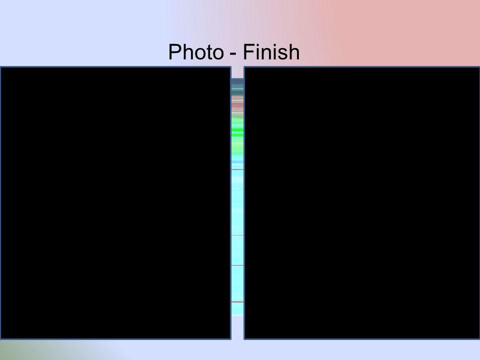 Photo - Finish