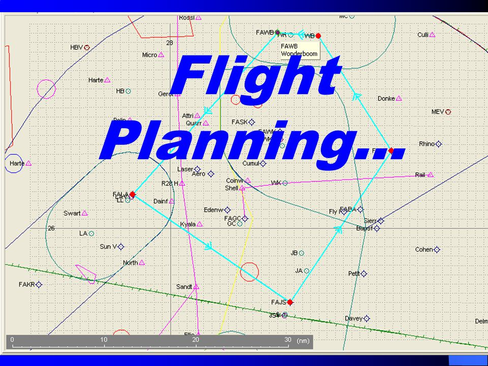 Flight Planning…