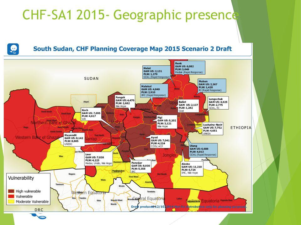 CHF-SA1 2015- Geographic presence