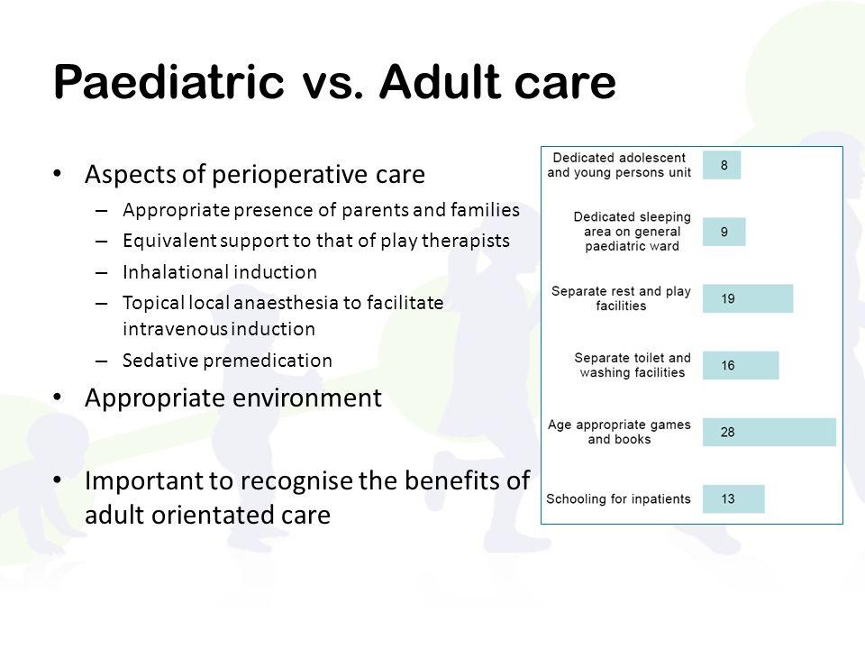 Paediatric vs.