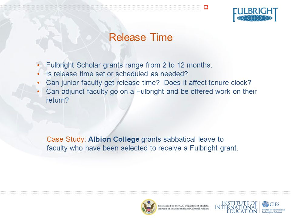 Tenure/Promotion Does international experience count towards tenure, promotion of merit.