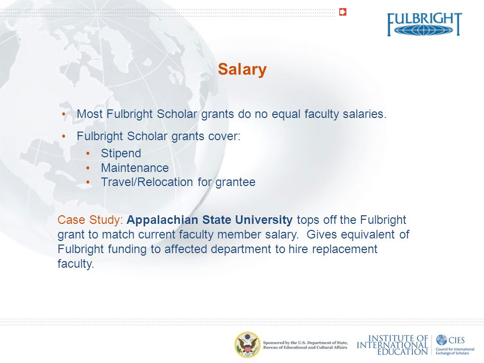 Benefits Fulbright Scholars need uninterrupted coverage with their regular health insurance.