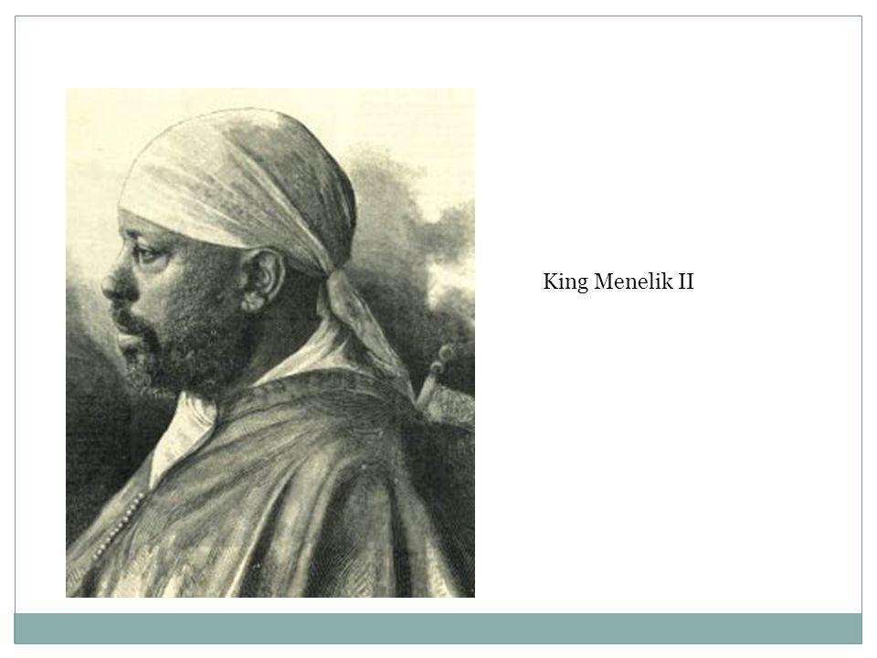 King Menelik II