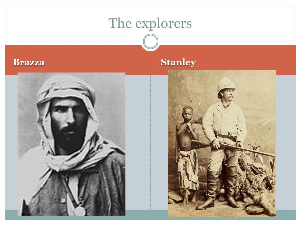 Brazza Stanley The explorers