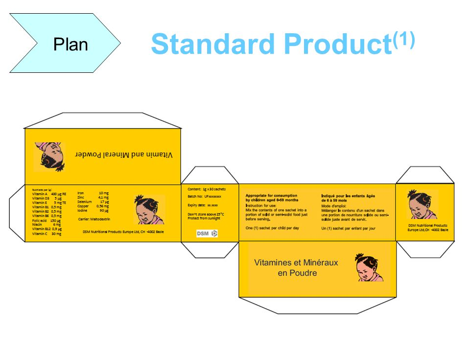Standard Product (1) Plan