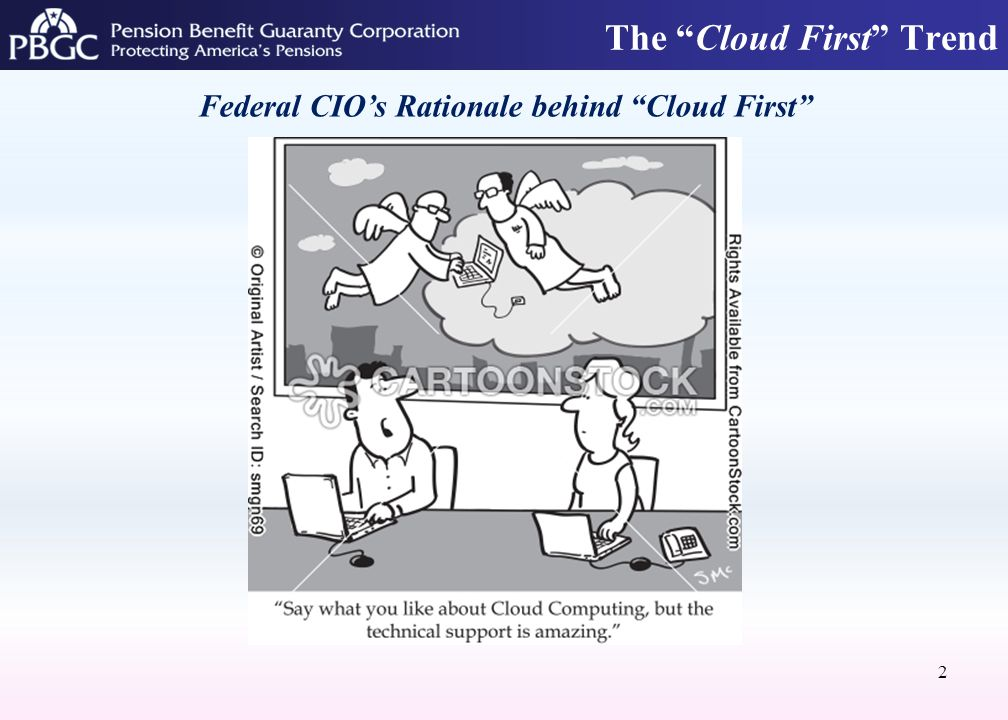 The Cloud First Trend 2 Federal CIO's Rationale behind Cloud First