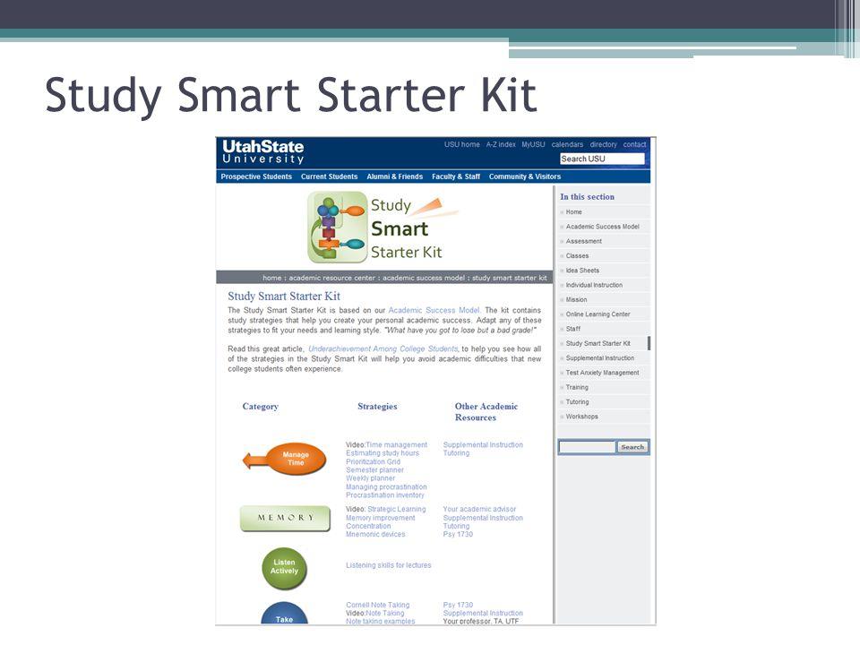 Study Smart Starter Kit