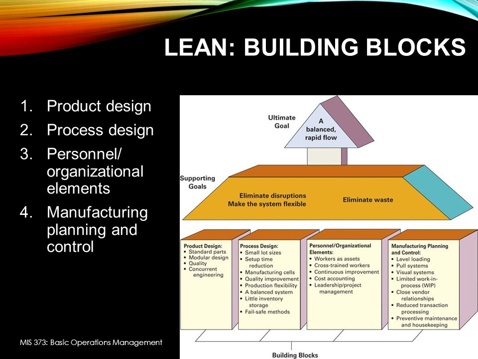 LEAN SERVICES In service the focus is often on the time needed to perform the service - speed is often the order winner Provide services when they are needed Lean benefits can be achieved in the following ways: Eliminate disruptions e.g., avoid having service providers also answer phones.