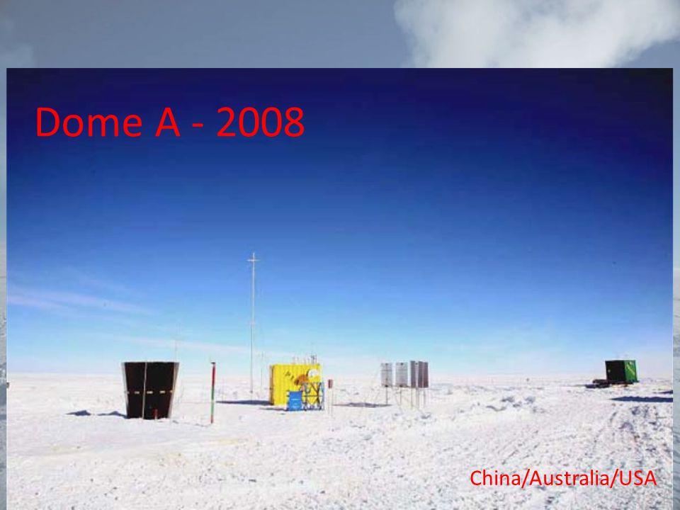 Dome A - 2008 China/Australia/USA