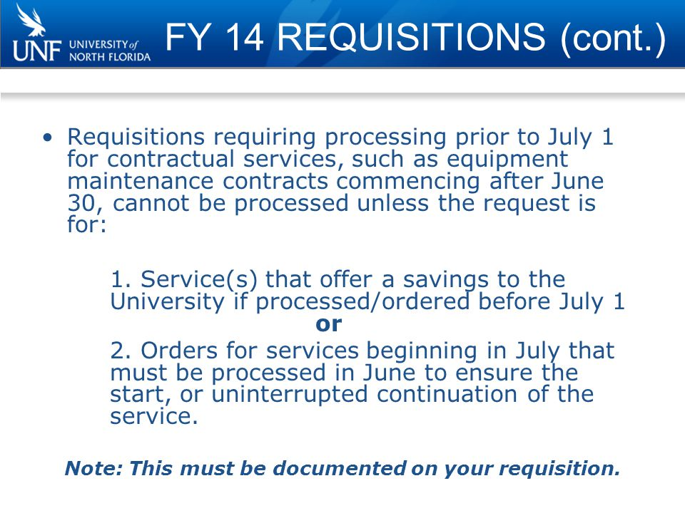 Payroll Budget Considerations FRIDAY, JUNE 20, 2014 The June 27 payroll (for both Salaried and OPS employees) will include 10 days (full payroll period) that will be charged to the current fiscal year (FY14).