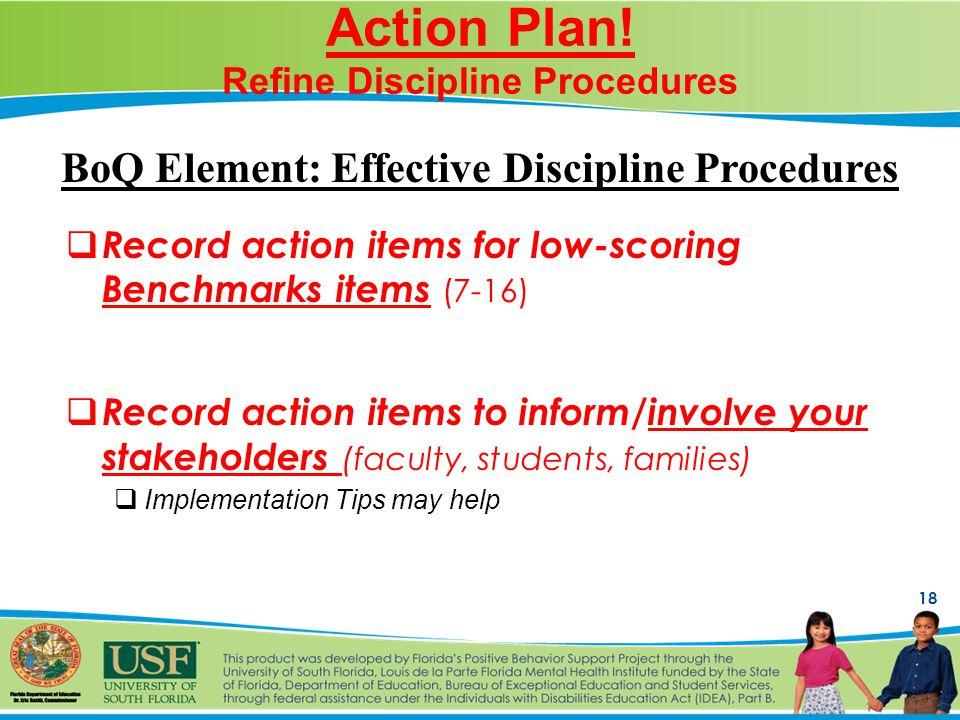 18 Action Plan.